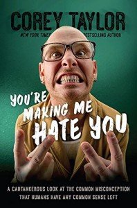 Photo of Corey Taylor's upcoming book
