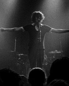 Lead singer, Matty Healy (via Alyssa O'Brenski)